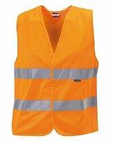 Kinder Sicherheitsweste bis Gr.164 / James & Nicholson JN200K 140-164 Fluorescent Orange