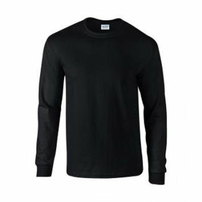Herren Langarm T-Shirt / Gildan 2400 XL Black