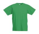 Original T Kids T-Shirt bis Gr.164 (14-15) / Fruit of the Loom 61-019-0 104 (3-4) Kelly Green