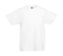 Original T Kids T-Shirt bis Gr.164 (14-15) / Fruit of the Loom 61-019-0 116 (5-6) White