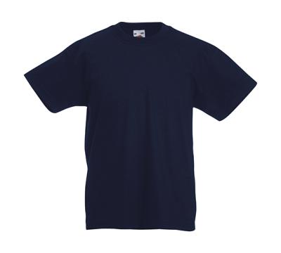 Original T Kids T-Shirt bis Gr.164 (14-15) / Fruit of the Loom 61-019-0 116 (5-6) Deep Navy