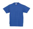 Original T Kids T-Shirt bis Gr.164 (14-15) / Fruit of the Loom 61-019-0 128 (7-8) Royal