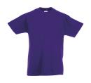 Original T Kids T-Shirt bis Gr.164 (14-15) / Fruit of the Loom 61-019-0 128 (7-8) Purple