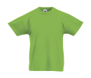 Original T Kids T-Shirt bis Gr.164 (14-15) / Fruit of the Loom 61-019-0 128 (7-8) Lime Green
