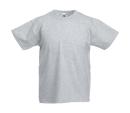 Original T Kids T-Shirt bis Gr.164 (14-15) / Fruit of the Loom 61-019-0 140 (9-11) Heather Grey