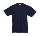 Original T Kids T-Shirt bis Gr.164 (14-15) / Fruit of the Loom 61-019-0 140 (9-11) Deep Navy