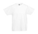 Original T Kids T-Shirt bis Gr.164 (14-15) / Fruit of the Loom 61-019-0 152 (12-13) White