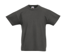 Original T Kids T-Shirt bis Gr.164 (14-15) / Fruit of the Loom 61-019-0 152 (12-13) Light Graphite