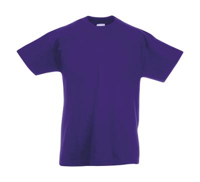 Original T Kids T-Shirt bis Gr.164 (14-15) / Fruit of the Loom 61-019-0 152 (12-13) Purple