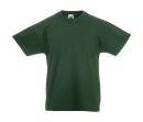 Original T Kids T-Shirt bis Gr.164 (14-15) / Fruit of the Loom 61-019-0 152 (12-13) Bottle Green