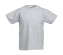 Original T Kids T-Shirt bis Gr.164 (14-15) / Fruit of the Loom 61-019-0 164 (14-15) Heather Grey
