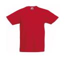 Original T Kids T-Shirt bis Gr.164 (14-15) / Fruit of the Loom 61-019-0 164 (14-15) Red