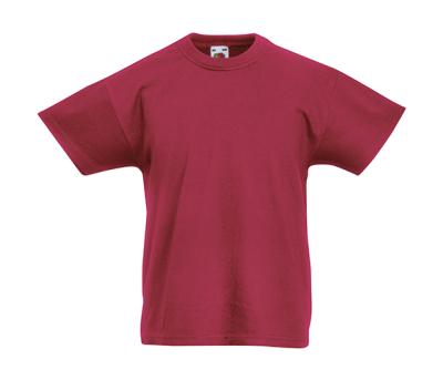 Original T Kids T-Shirt bis Gr.164 (14-15) / Fruit of the Loom 61-019-0 164 (14-15) Brick Red