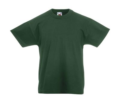 Original T Kids T-Shirt bis Gr.164 (14-15) / Fruit of the Loom 61-019-0 164 (14-15) Bottle Green