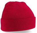Original Cuffed Beanie Kids / Beechfield B45b One Size Classic Red