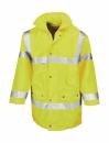 Sicherheitsjacke, Warnjacke wasserdicht m.Kapuze bis Gr.3XL /  Result R018X XL Fluorescent Yellow