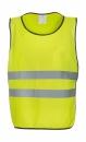 Fluo Kasack für Erwachsene bis Gr.L/XL / Yoko HVJ269 S/M Fluo Yellow