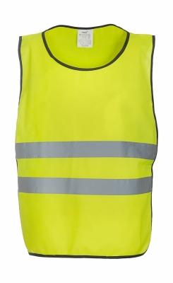 Fluo Kasack für Erwachsene bis Gr.L/XL / Yoko HVJ269 L/XL Fluo Yellow
