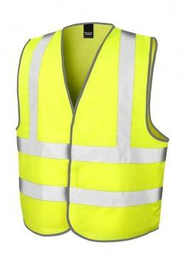Sicherheitsweste Core Motorway Vest bis Gr.3XL / Result R201X S/M Hi Vis Yellow
