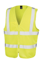 Core Zip Safety Tabard bis Gr.3XL / Result R202X S/M Fluorescent Yellow