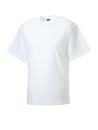 T-Shirt - Arbeitsshirt bis Gr.4XL / Russell  R-010M-0 S White