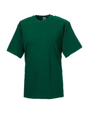 T-Shirt - Arbeitsshirt bis Gr.4XL / Russell  R-010M-0 L Bottle Green