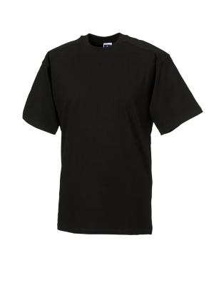 T-Shirt - Arbeitsshirt bis Gr.4XL / Russell  R-010M-0 2XL Black