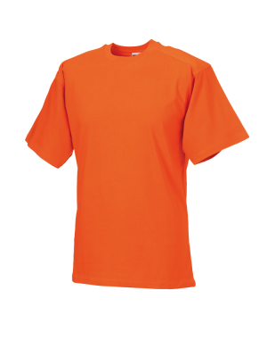 T-Shirt - Arbeitsshirt bis Gr.4XL / Russell  R-010M-0 2XL Orange