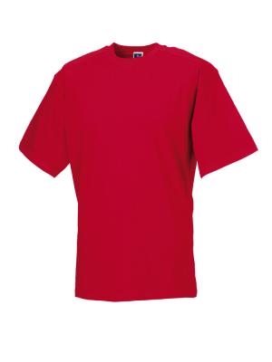 T-Shirt - Arbeitsshirt bis Gr.4XL / Russell  R-010M-0 XL Classic Red