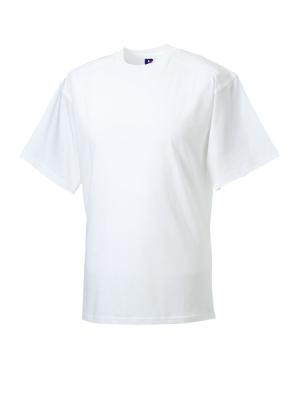 T-Shirt - Arbeitsshirt bis Gr.4XL / Russell  R-010M-0 4XL White