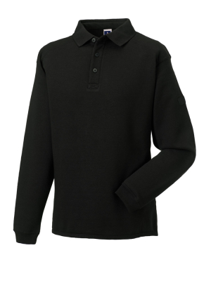Herren Polo-Sweatshirt bis Gr.4XL / Russell 012M XS Black