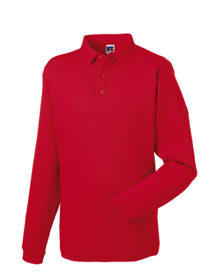 Herren Polo-Sweatshirt bis Gr.4XL / Russell 012M XS Classic Red