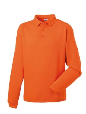 Herren Polo-Sweatshirt bis Gr.4XL / Russell 012M XS Orange