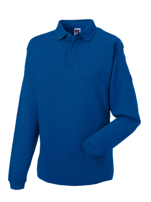 Herren Polo-Sweatshirt bis Gr.4XL / Russell 012M S Bright Royal