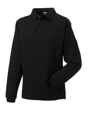 Herren Polo-Sweatshirt bis Gr.4XL / Russell 012M M Black