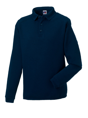 Herren Polo-Sweatshirt bis Gr.4XL / Russell 012M M French Navy