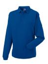 Herren Polo-Sweatshirt bis Gr.4XL / Russell 012M L Bright Royal