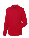 Herren Polo-Sweatshirt bis Gr.4XL / Russell 012M L Classic Red