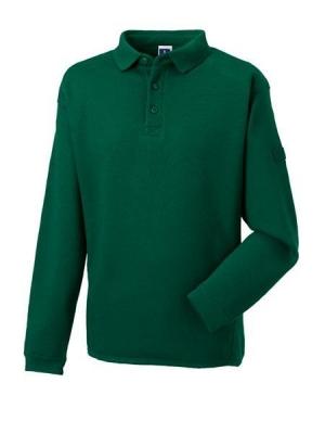 Herren Polo-Sweatshirt bis Gr.4XL / Russell 012M L Bottle Green