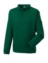 Herren Polo-Sweatshirt bis Gr.4XL / Russell 012M XL Bottle Green
