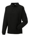 Herren Polo-Sweatshirt bis Gr.4XL / Russell 012M 3XL Black