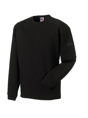 Arbeits Sweatshirt Set-In bis Gr.4XL / Russell  R-013M-0 L Black
