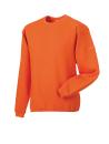 Arbeits Sweatshirt Set-In bis Gr.4XL / Russell  R-013M-0 L Orange