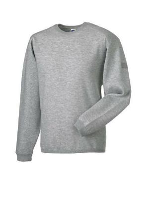 Arbeits Sweatshirt Set-In bis Gr.4XL / Russell  R-013M-0 L Light Oxford