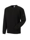 Arbeits Sweatshirt Set-In bis Gr.4XL / Russell  R-013M-0 2XL Black