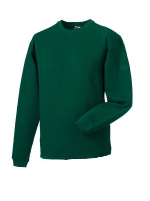 Arbeits Sweatshirt Set-In bis Gr.4XL / Russell  R-013M-0 2XL Bottle Green