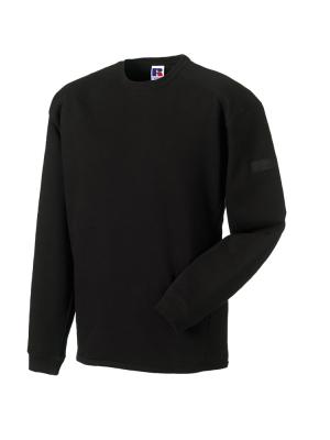 Arbeits Sweatshirt Set-In bis Gr.4XL / Russell  R-013M-0 3XL Black