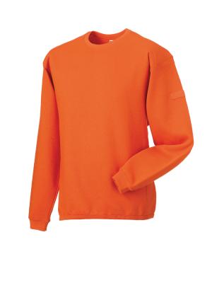 Arbeits Sweatshirt Set-In bis Gr.4XL / Russell  R-013M-0 4XL Orange