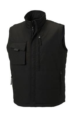 Workwear Bodywarmer bis Gr.4XL / Russell R-014M-0 S Black