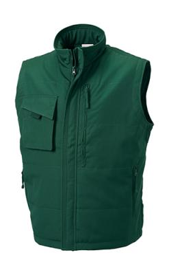 Workwear Bodywarmer bis Gr.4XL / Russell R-014M-0 S Bottle Green